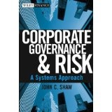 Corporate Governance and Risk: A Systems Approch